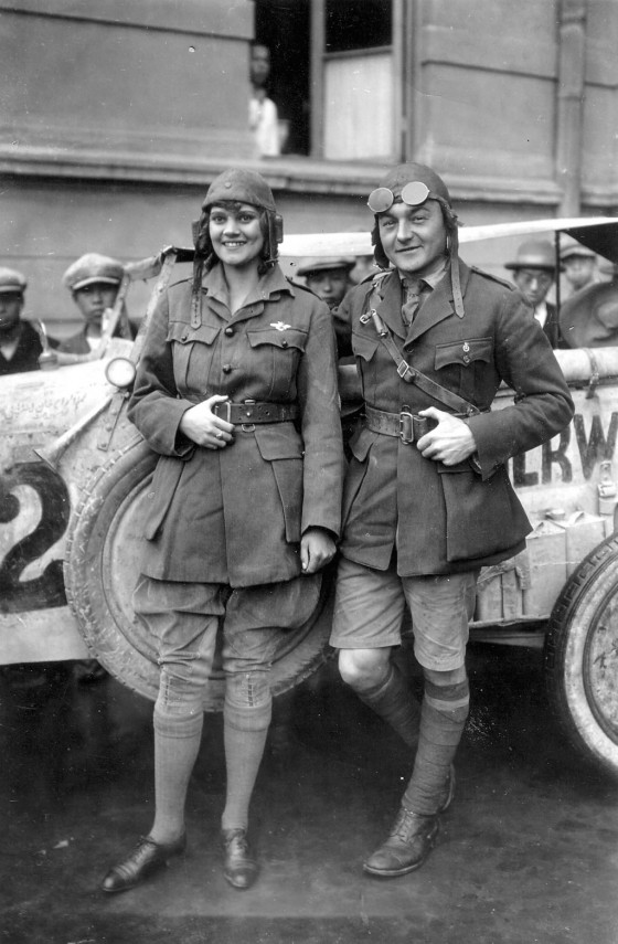 Captain Walter Wanderwell and Aloha Wanderwell