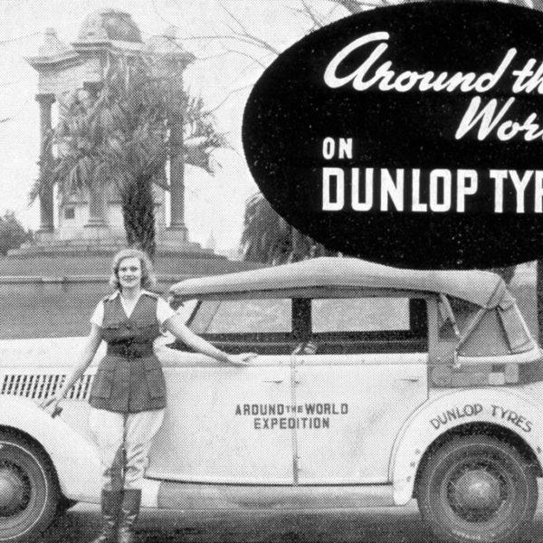 Around the World on Dunlop Tires