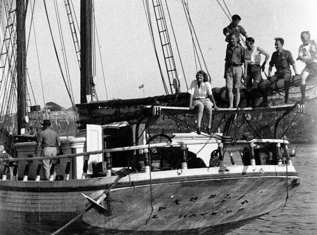 Aloha on Ship with Crew