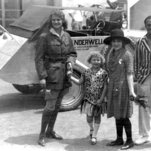 Aloha Wanderwell, Mary Pickford & Douglas Fairbanks