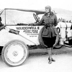 Wanderwell Portrait Car