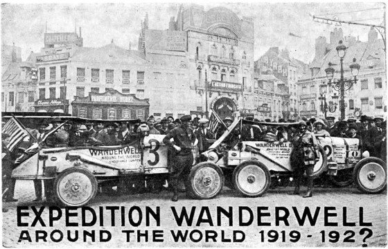 Expedition Wanderwell Postcard