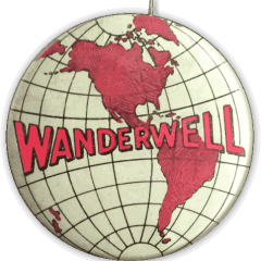 Wanderwell Tour Pin