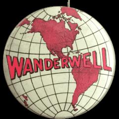 Wanderwell Tour Pin