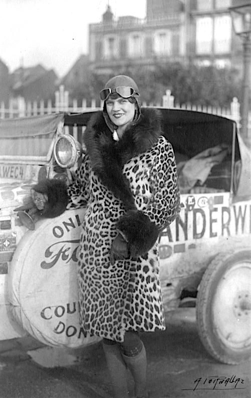 Aloha Wanderwell 20世纪20年代驾福特T远征旅行超过80个国家 - wuwei1101 - 西花社